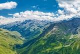 Mountain landscape. Caucasian National Park. Russia