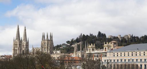 view of Burgos (Spain)