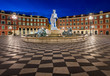 Place Massena and Fountain du Soleil at Dawn, Nice, France - 78842715