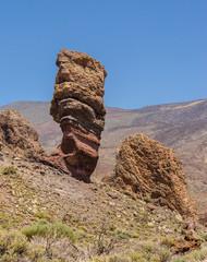 Rock called Finger of God, Tenerife.