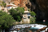 Dervish house in old town Blagaj near the Mostar poster