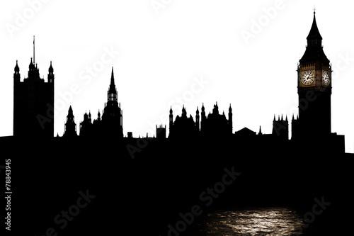 Tuinposter Londen Skyline London