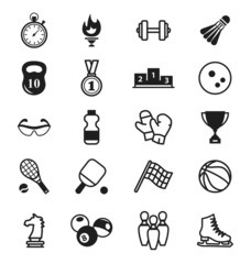 Sports Icons. items, inventory