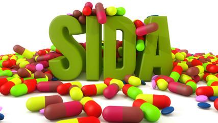 Sida medicine capsules