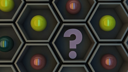 Hexagonal and questioning Cube decision
