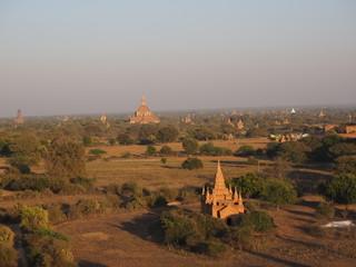 Pagoda budista en Bagan (Myanmar)
