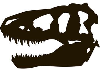 Tyrannosaur skull