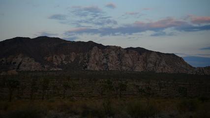 Time Lapse of Sunset in the Desert - Joshua Tree National Park