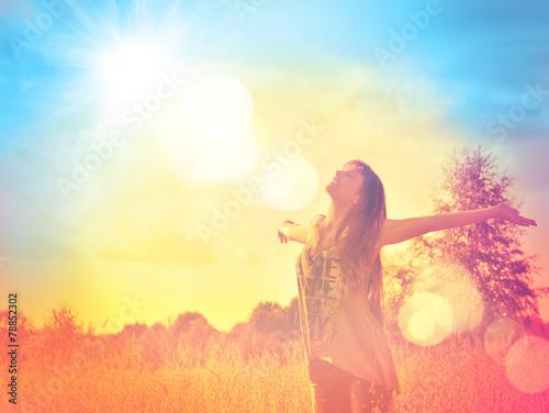 Happy woman - 78852302