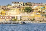 Nubian traditional village, lake Nasser (Egypt)