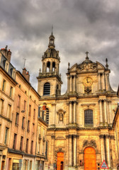 View of Nancy Cathedral - Lorraine, France
