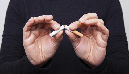 sigara kırmak