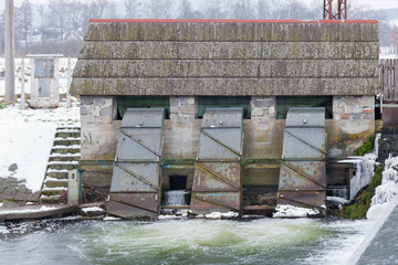 Small hydroelectric power station