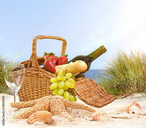 Picknick am Strand - 78856789