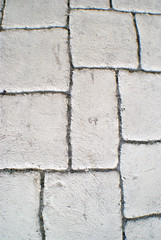 textured background of pavers