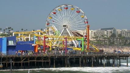 Santa Monica Pier - Time Lapse