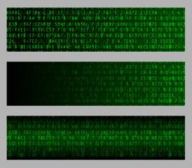 Hexadecimal Web Banners