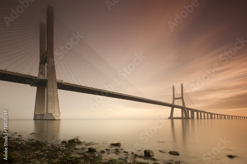 Poster Vasco de Gama bridge