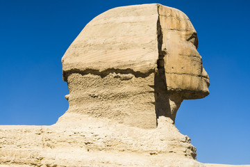The Great Sphinx of Giza, Cairo (Egypt )