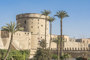 Al-Muqattam Tower of Saladin Citadel of Cairo (Egypt)