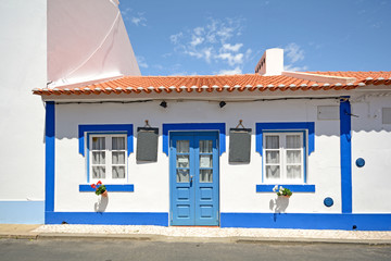 Traditional portuguese house in a village, Portugal