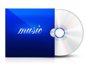 Ilustracja dysku z muzyką