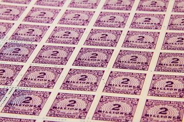 Inflationsbriefmarken Deutsches Reich 1923