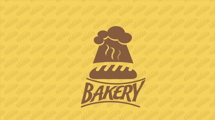 Bakery icon, Video Animation. HD 1080