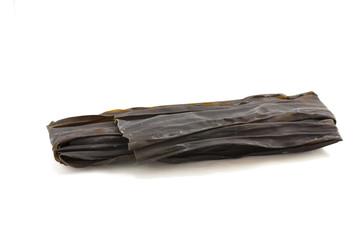 Japanese dried seaweed also known as Konbu or Kombu