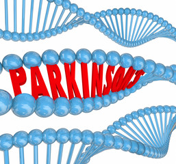 Parkinsons Disease Nervous System Neurological Disorder DNA Word