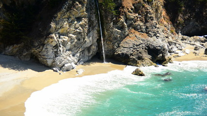 McWay Falls Beach, Big Sur California