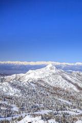 Shiga Kogen in winter, Nagano, Japan