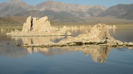 Canoe View on Mono Lake California