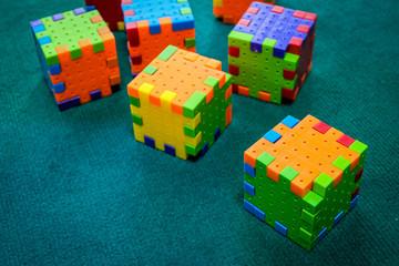 jigsaw puzzle rubik cube toy