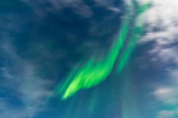 Aurora above Grundarfjörður, Iceland
