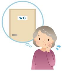 頻尿に悩む女性 高齢者