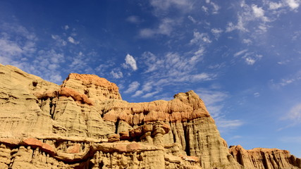 Time Lapse of Scenic Red Rock Canyon Daytime