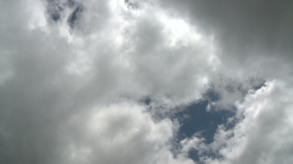 Time Lapse of cloudy clouds