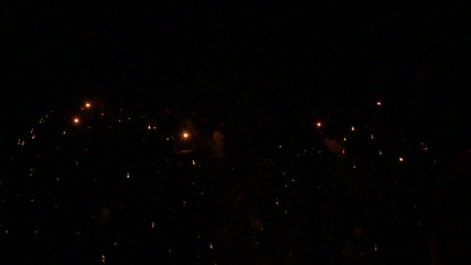 Time Lapse of Fireworks