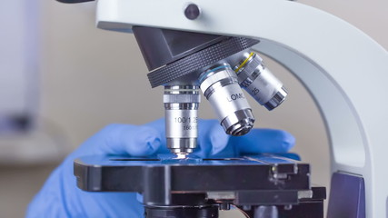 Labaratory microscope
