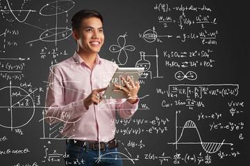 Smart Vietnamese student