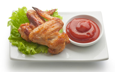 Fried chicken wing