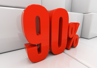 3D 90 percent