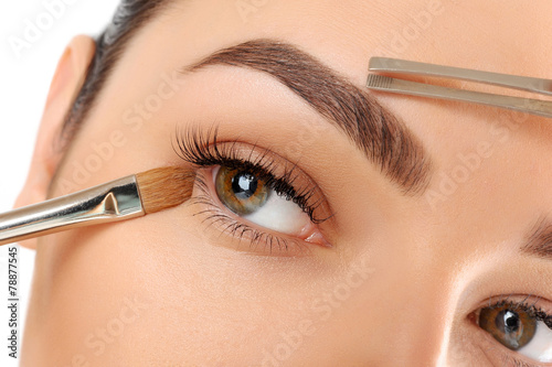 Make-up. Eyebrow Makeup. Eyes - 78877545