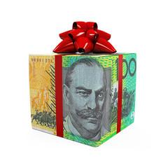 Australian Dollar Money Gift Box