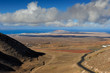 view from Femes, Lanzarote Island, Canary Islands, Spain - 78878344