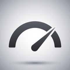 Vector performance measurement icon