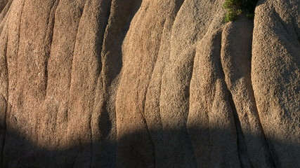 Desert Rocks  Sunset Shadows Creep Along Rocks - Time Lapse