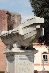 The Navicella in Rome
