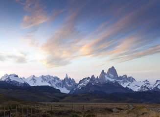 Argentina El Chaltén with Fitz Roy in Patagonia